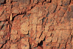Texture of Rock Stock Photography