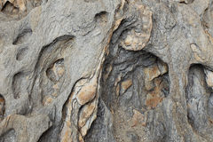 Texture of rock Royalty Free Stock Photo