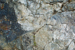 The texture of the rock Royalty Free Stock Photo