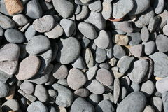 Texture of rocks beach Stock Photos