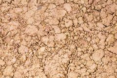 Ocher wet lump - texture. Texture of rocks of various sizes and colors Royalty Free Stock Photo
