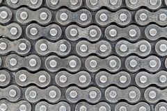 Texture of roller chains Stock Photo