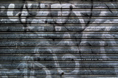 Texture of a rolling shutter in the old city. Texture of a rolling shutter in the  city Stock Image