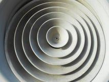 Texture ronde en caoutchouc de fond de ventilation images libres de droits