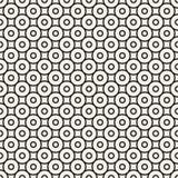Texture ronde linéaire décorative sans fin Vintage d'emballage illustration libre de droits