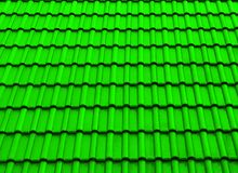 Texture roof shade green stock photo