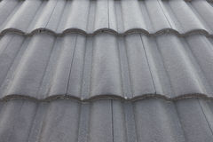 Texture of roof tiles. Royalty Free Stock Photos