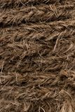 Texture of a rope stock photos