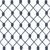 Texture from a rope network Stock Photography