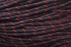 Texture of rope using in working on height Royalty Free Stock Photo