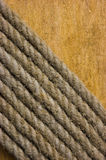 Texture of the ropes Stock Photography