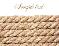 Texture of the ropes Royalty Free Stock Photography