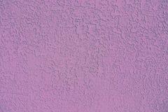 Texture rose concrète de stuc de fond image stock
