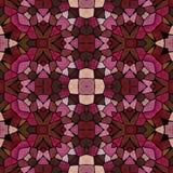 Texture rose de kaléidoscope d'obscurité Illustration Stock