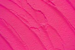 Texture rose de mur de modèle Images libres de droits