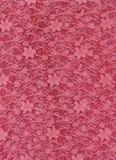 Texture rose de textile de tissu de lacet Photo libre de droits