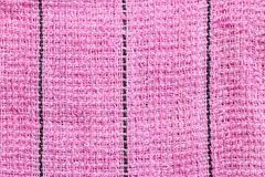 Texture rose de tissu des textiles Photographie stock libre de droits