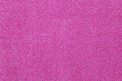 Texture rose de tissu en soie Images stock