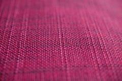 Texture rose de tissu Fond rose de tissu Fermez-vous vers le haut de la vue de la texture et du fond roses de tissu Photo libre de droits