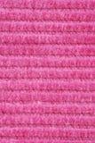 Texture rose de velours Images libres de droits