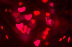 Texture rose et rouge de coeurs Image stock