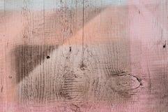 Texture rose peinte en bois de panneau Images stock