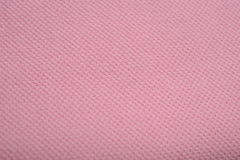The texture of a rose pink cotton cloth Stock Images