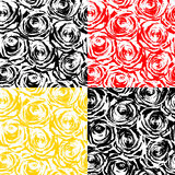 Texture of roses Royalty Free Stock Photos