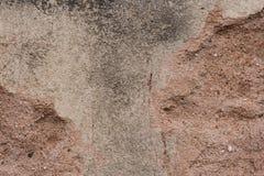 Texture rougeâtre de ciment image stock