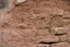 Texture rougeâtre de ciment image libre de droits