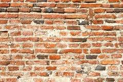 Texture rougeâtre de mur de briques photos stock