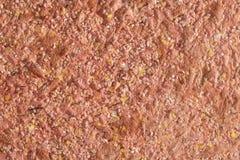 Texture rouge abstraite de papier peint décoratif de liquide de plâtre Photos libres de droits