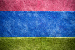 Texture rouge, bleue et verte de fibre photographie stock libre de droits
