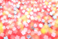 Texture rouge brouillée avec les taches abstraites Photographie stock