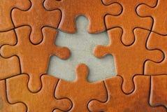 Texture rouge-brun lumineuse des puzzles de papier Photos libres de droits