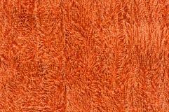Texture rouge d'essuie-main Image libre de droits