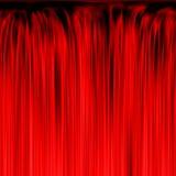 Texture rouge de cascade à écriture ligne par ligne ou de rideau Photo libre de droits