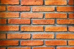 Texture rouge de mur de briques photographie stock