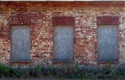 Texture rouge de mur de briques Photos libres de droits