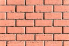 Texture rouge de mur de briques Photographie stock libre de droits