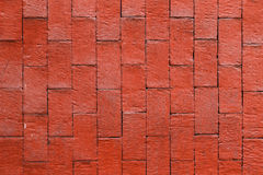 Texture rouge de mur de briques Photos stock