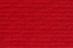 Texture rouge de papier fait main Photographie stock
