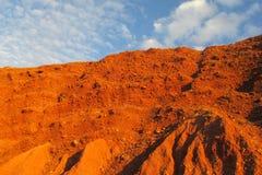 Texture rouge de pierres Photo libre de droits