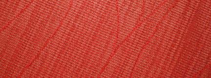 Texture rouge de textile Photos stock