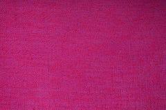 Texture rouge de tissu Images libres de droits