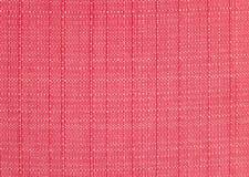Texture rouge de tissu Photo libre de droits