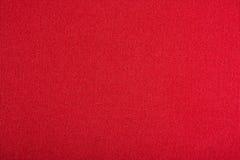 Texture rouge de toile Photo libre de droits