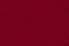 Texture rouge de velours Photo stock