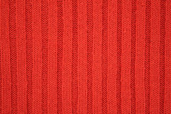 Texture rouge du Jersey Photos stock