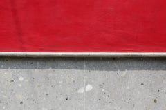 Texture rouge et grise de mur Photographie stock